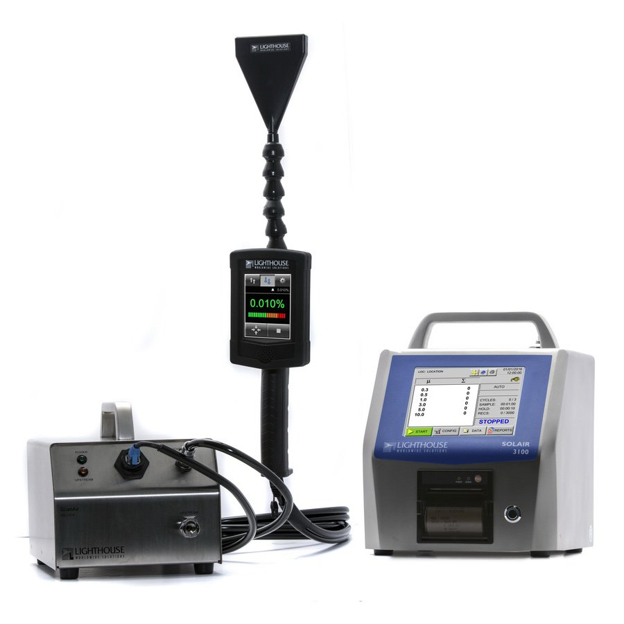 Scanair Pro Particle Counter Filter Scanning System