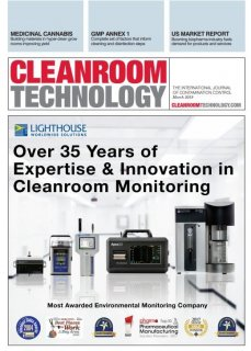 Lighthouse is currently featured on the cover of the March 2019 issue of Cleanroom Technology Medium Image