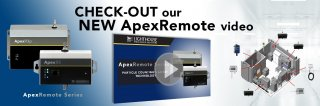 Check out our new 3 1/2 minute video for Lighthouse Worldwide Solutions ApexRemote models. Medium Image