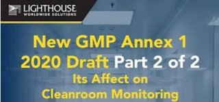 Check out our new video for GMP Annex 1 2020 Draft and how it affects Cleanroom Monitoring Medium Image