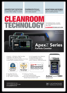 Lighthouse is featured on the cover of Cleanroom Technology Magazine. Medium Image