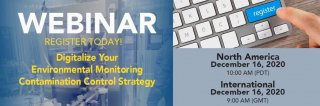 [Upcoming Webinar] Digitalize Your Environmental Monitoring Contamination Control Strategy Medium Image