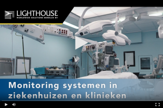 Watch our new movie about our monitoring system in hospitals and clinics Medium Image