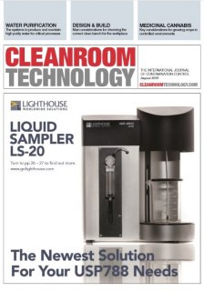Lighthouse is featured on the cover of the August 2018 issue of Cleanroom Technology. Medium Image