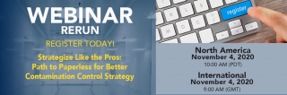 "[Webinar Rerun] ""Strategize like the Pros: Path to Paperless for Better Contamination Control Strategy"" Medium Image"