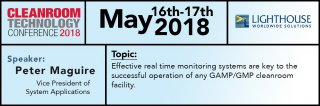 Lighthouse Worldwide Solutions will be presenting on May 16th- 17th  during the Cleanroom Technology Conference 2018. Medium Image