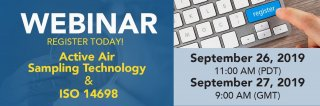 Upcoming Webinar: Active Air Sampling Technology and ISO 14698 Medium Image