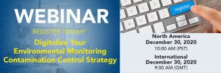 Webinar Rerun: Digitalize Your Environmental Monitoring Contamination Control Strategy Medium Image