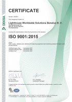 Benelux, ISO 9001:2015 Certificate Small Image