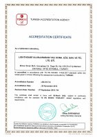 EMEA, ISO 17025:2017 Certificate Small Image