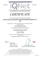 EMEA, ISO 9001:2015 Certificate Small Image