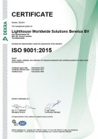 Benelux, ISO 9001:2015 Certification Small Image