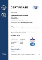 USA, ISO 9001:2015 Certification Small Image