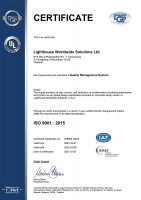 Thailand, ISO 9001:2015 Certificate Small Image