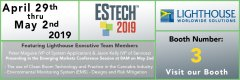 We are back this year at ESTECH 2019 on April 29th - May 2nd, Las Vegas, NV! Small Image