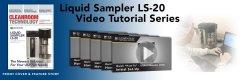 We now have a complete how-to video series for the Lighthouse Liquid Batch Samplers! Small Image