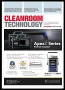 Lighthouse is featured on the cover of Cleanroom Technology Magazine. Small Image