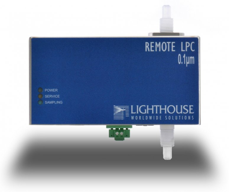 Remote liquid deeltjesteller
