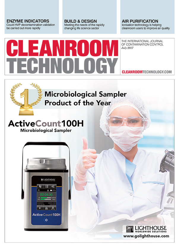 Cleanroom Technology: Microbial Sampler of the Year ActiveCount100H